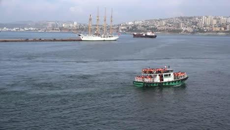 Chile-Valparaiso-Excursión-En-Bote
