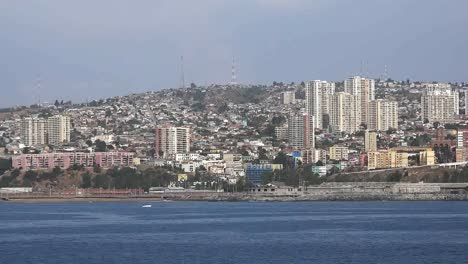 Chile-Valparaiso-View-Of-City-From-Ship
