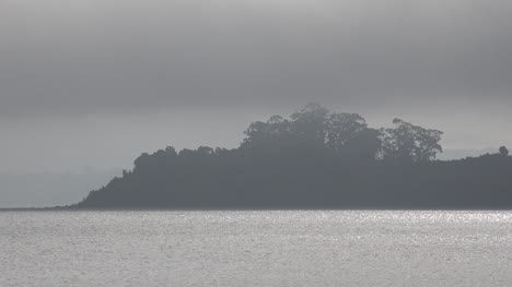 Chile-Mist-Over-Island-In-Lake-Llanquihue
