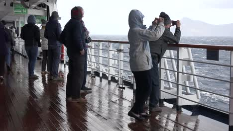 Chile-Passengers-Photographing-Cape-Horn