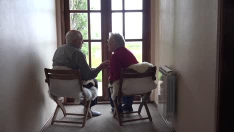 A-Senior-Couple-Shares-A-Kiss