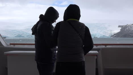 Antarctica-Admiralty-Bay-Passengers-Watching