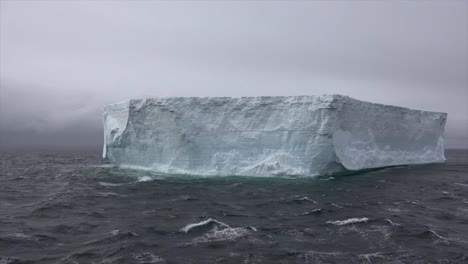 Antarctica-Big-Tabular-Iceberg-From-Ice-Shelf