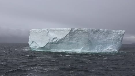 Antarctica-Floating-Tabular-Iceberg-Vista-Zoom-Out