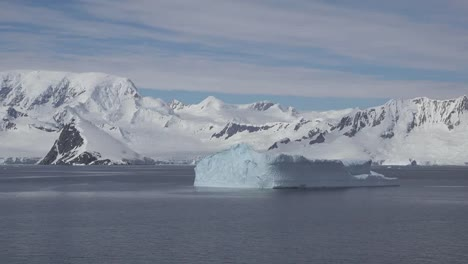 Antarctica-Iceberg-And-Mountains