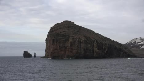 Antarctica-Large-Rock-And-Sea-Stacks-Deception-Island