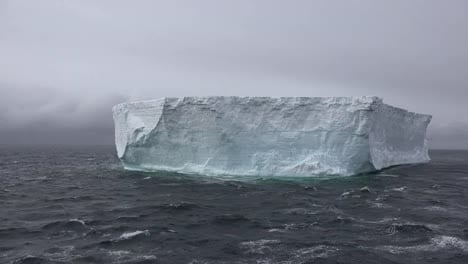 Antarctica-Zooms-On-Tabular-Iceberg-Once-Part-Of-An-Ice-Shelf