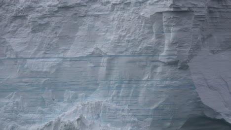 Antarctica-Zooms-To-Striations-On-Iceberg