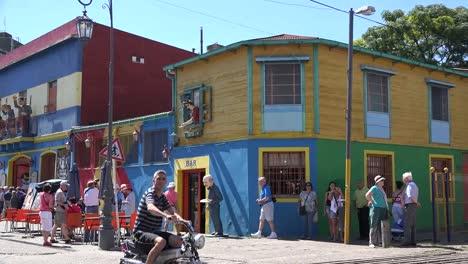 Argentina-Buenos-Aires-La-Boca-Buildings-And-Tourists