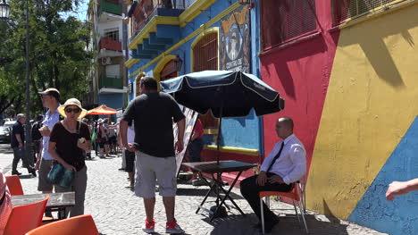 Argentina-Buenos-Aires-La-Boca-Colorful-Buildings-And-Tourists-Tilt-Up