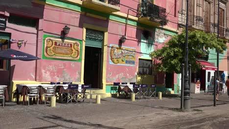 Argentina-Buenos-Aires-La-Boca-Pink-Building
