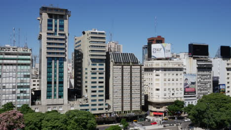 Argentina-Buenos-Aires-Buildings-On-9-July-Avenue