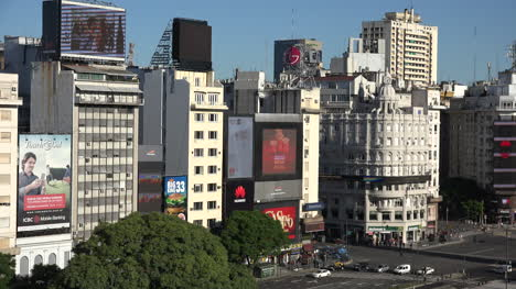 Argentina-Buenos-Aires-Buildings-On-July-9-Avenue