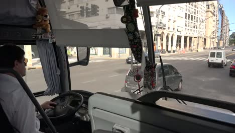 Argentina-Buenos-Aires-Bus-Driver