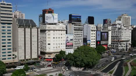 Argentina-Buenos-Aires-Downtown-Avenue-Pan