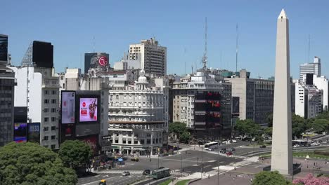 Argentina-Buenos-Aires-Downtown-Slight-Zoom-Out