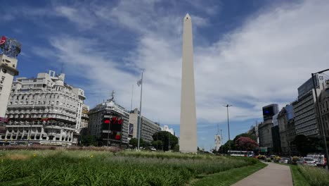 Argentina-Buenos-Aires-Obelisk-And-Clouds