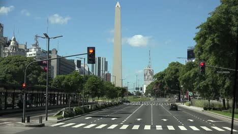 Argentina-Buenos-Aires-Obelisk-And-Traffic-On-July-9-Avenue