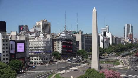 Argentina-Buenos-Aires-Obelisk-In-Central-City