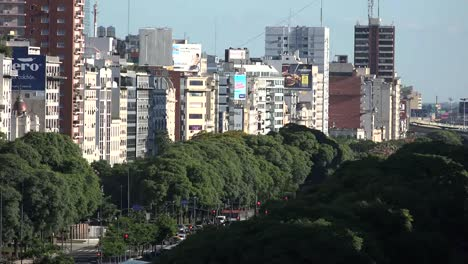 Argentina-Buenos-Aires-Tree-Lined-Avenue