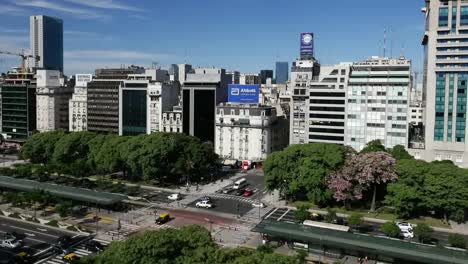 Argentina-Buenos-Aires-Zooms-On-Intersection