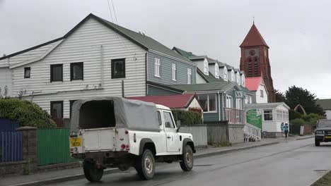 Falklands-Port-Stanley-Cathedral-And-Street