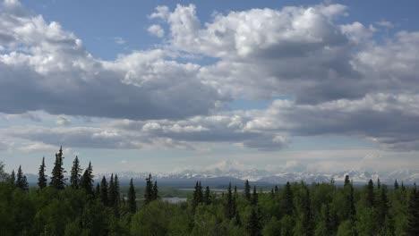 Alaska-Clouds-Over-Forest-And-Alaska-Range