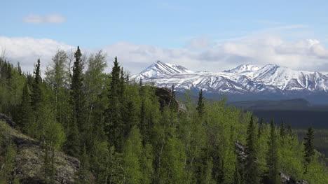 Alaska-Denali-Park-Spring-View-Of-Mountains
