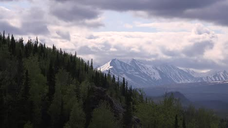 Alaska-Denali-Distant-Mountains-And-Slope