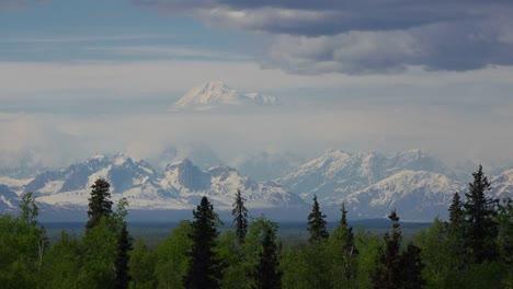 Alaska-Mount-Denali-Above-Forest
