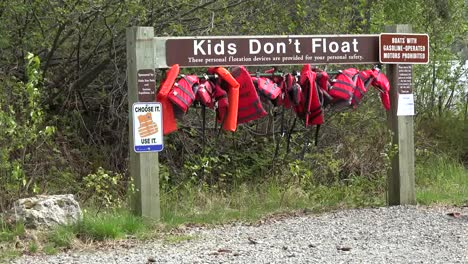 Alaska-Life-Jackets-In-A-Row