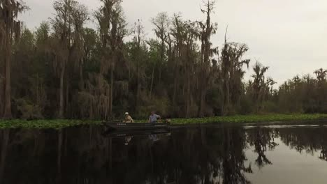 Georgia-Okefenokee-Little-Boat-Goes-By