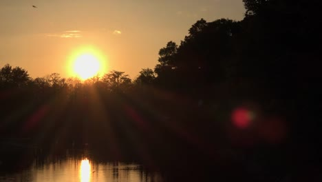 Georgia-Okefenokee-Sunset-Time-Lapse