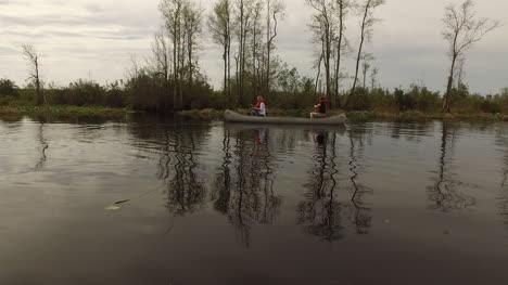 Georgia-Okefenokee-With-Canoes