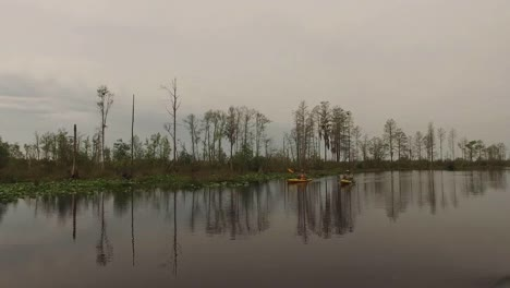 Georgia-Okefenokee-Yellow-Boats