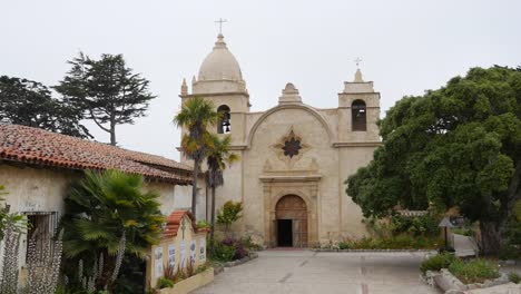 California-Carmel-Mission-San-Carlos-Grey-Skies