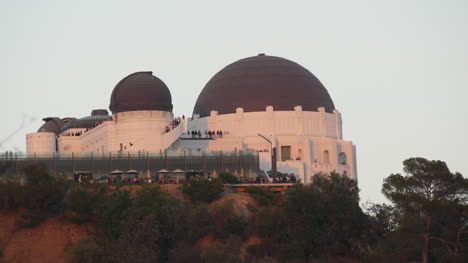 California-Los-Angeles-Observatory-With-People