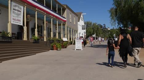 Kalifornien-San-Diego-Altstadt-Kosmopolitische-Hoteltouristen