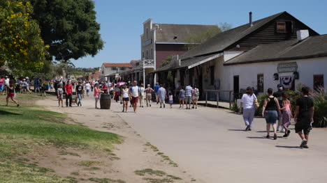 California-San-Diego-Old-Town-Street-With-Tourist-Crowd