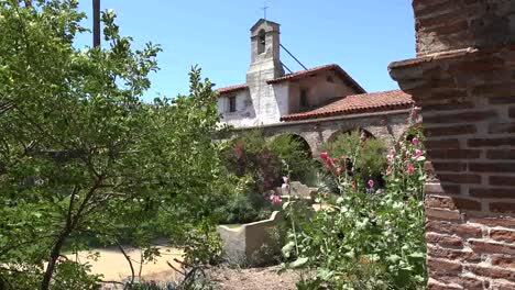 California-San-Juan-Capistrano-Mission-Bell-In-Tower-Courtyard