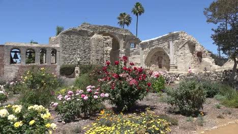 California-San-Juan-Capistrano-Mission-Bell-Wall-Old-Basilica-Ruins