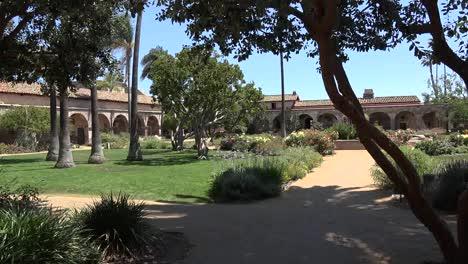 California-San-Juan-Capistrano-Mission-Courtyard-Garden