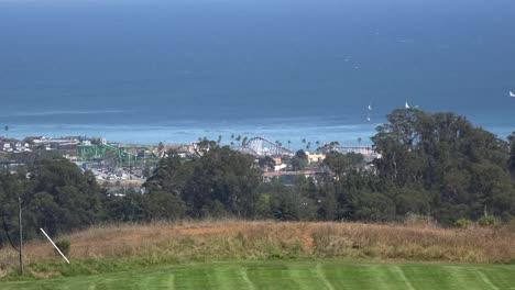 Kalifornien-Santa-Cruz-Promenade-In-Ferne