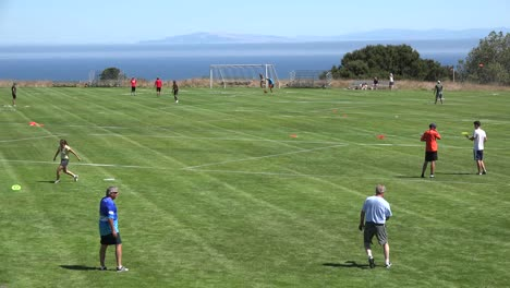 California-Santa-Cruz-Disc-Golf-Field-At-Uc-Santa-Cruz
