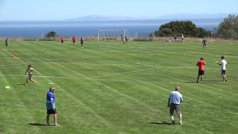 Kalifornien-Santa-Cruz-Disc-Golfplatz-Bei-Uc-Santa-Cruz