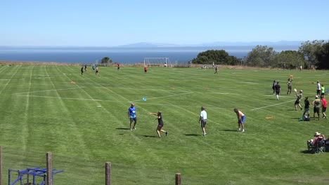 Kalifornien-Santa-Cruz-Disc-Turnier-Freestyle-Warmup