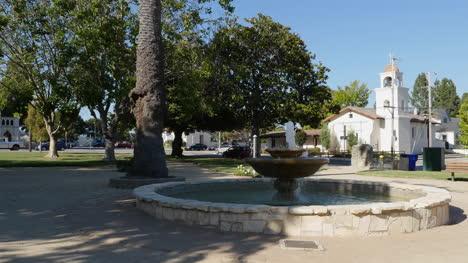 California-Santa-Cruz-Mission-Park-With-Fountain