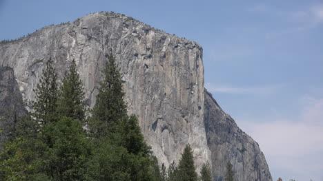 California-Yosemite-El-Capitan-And-Blue-Sky