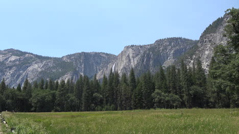 California-Yosemite-Falls-And-Bicycles