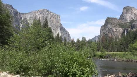 California-Yosemite-River-And-Valley-View